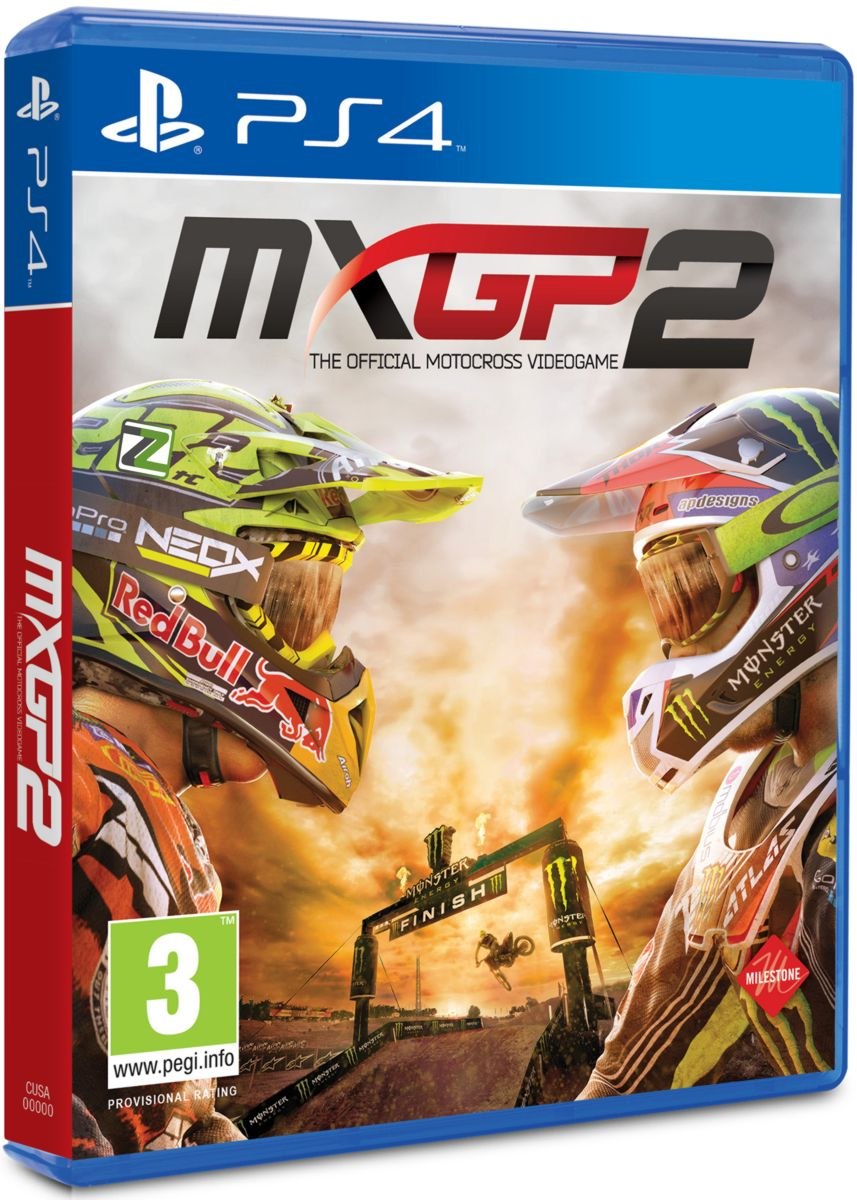 MXGP2: The Official Motocross Videogame - PS4