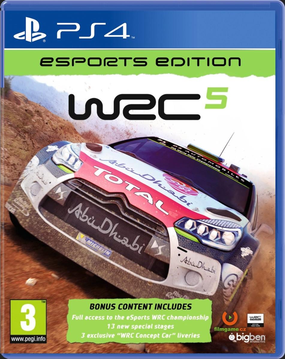 WRC 5 ESPORTS EDITION - PS4