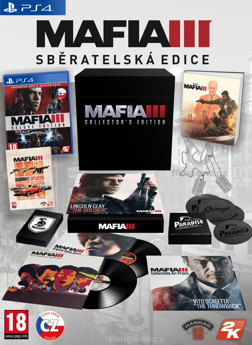 MAFIA III COLLECTORS EDITION - PS4