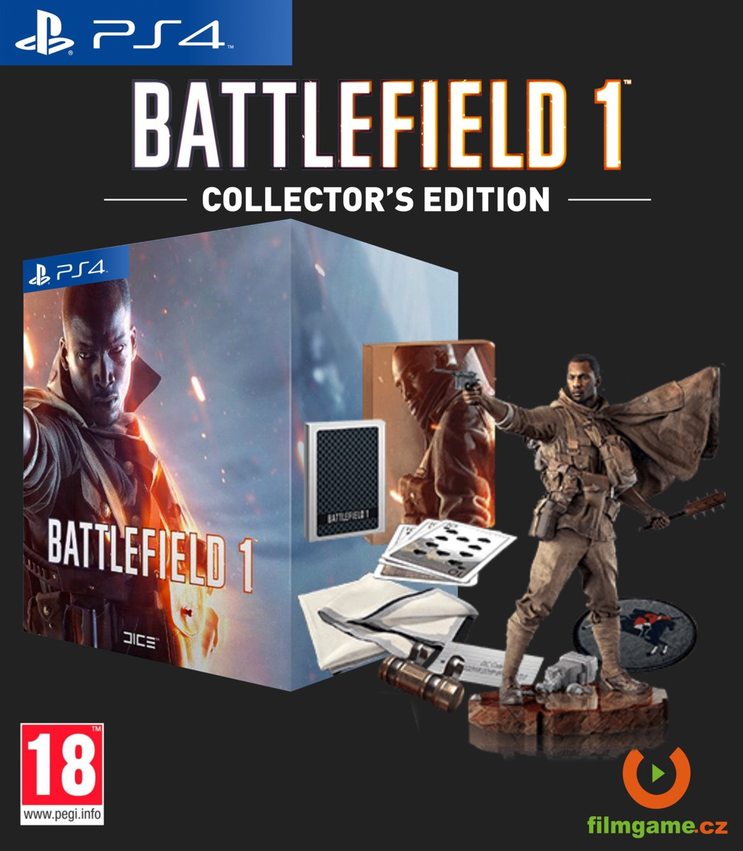 BATTLEFIELD 1 COLLECTOR'S EDITION - PS4
