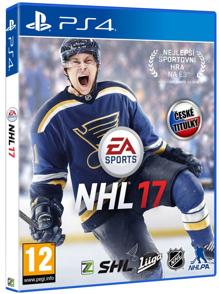 NHL 17 CZ - PS4