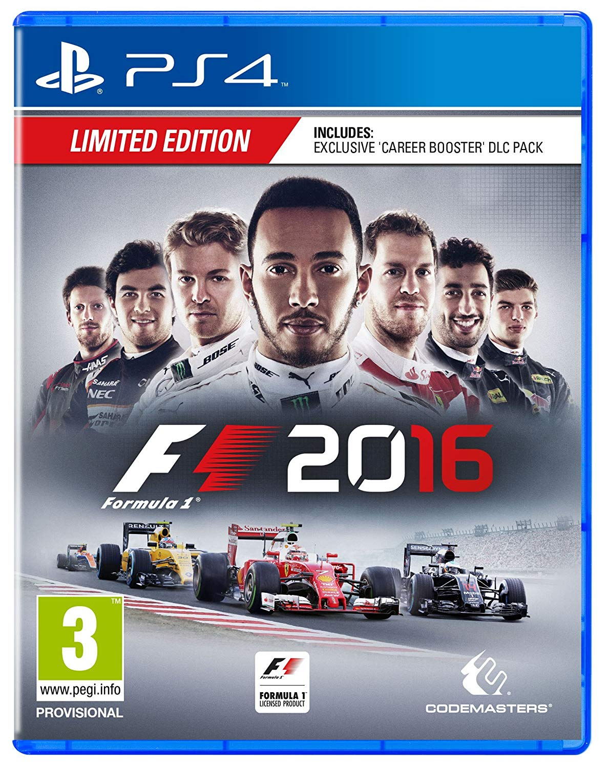 F1 2016 + DLC Career Booster - PS4