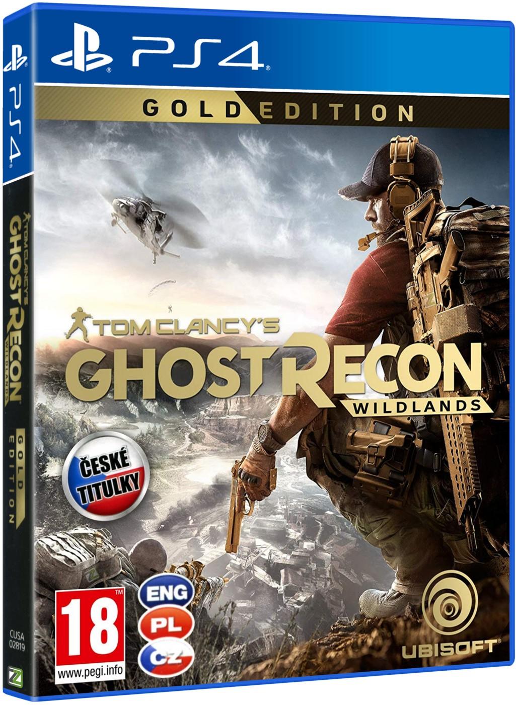 TOM CLANCY'S GHOST RECON: WILDLANDS Gold Edition - PS4