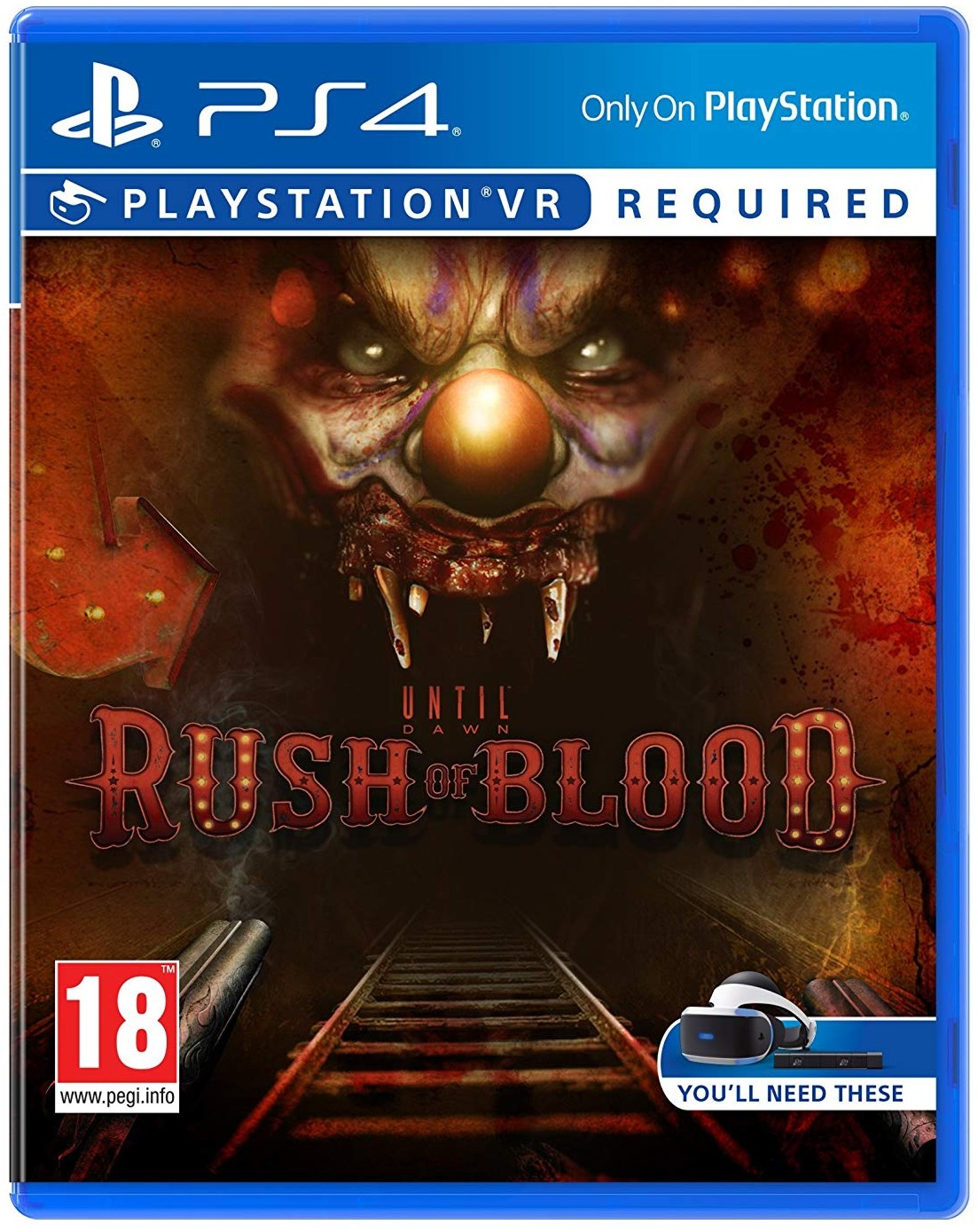 UNTIL DAWN RUSH OF BLOOD - PS4 VR