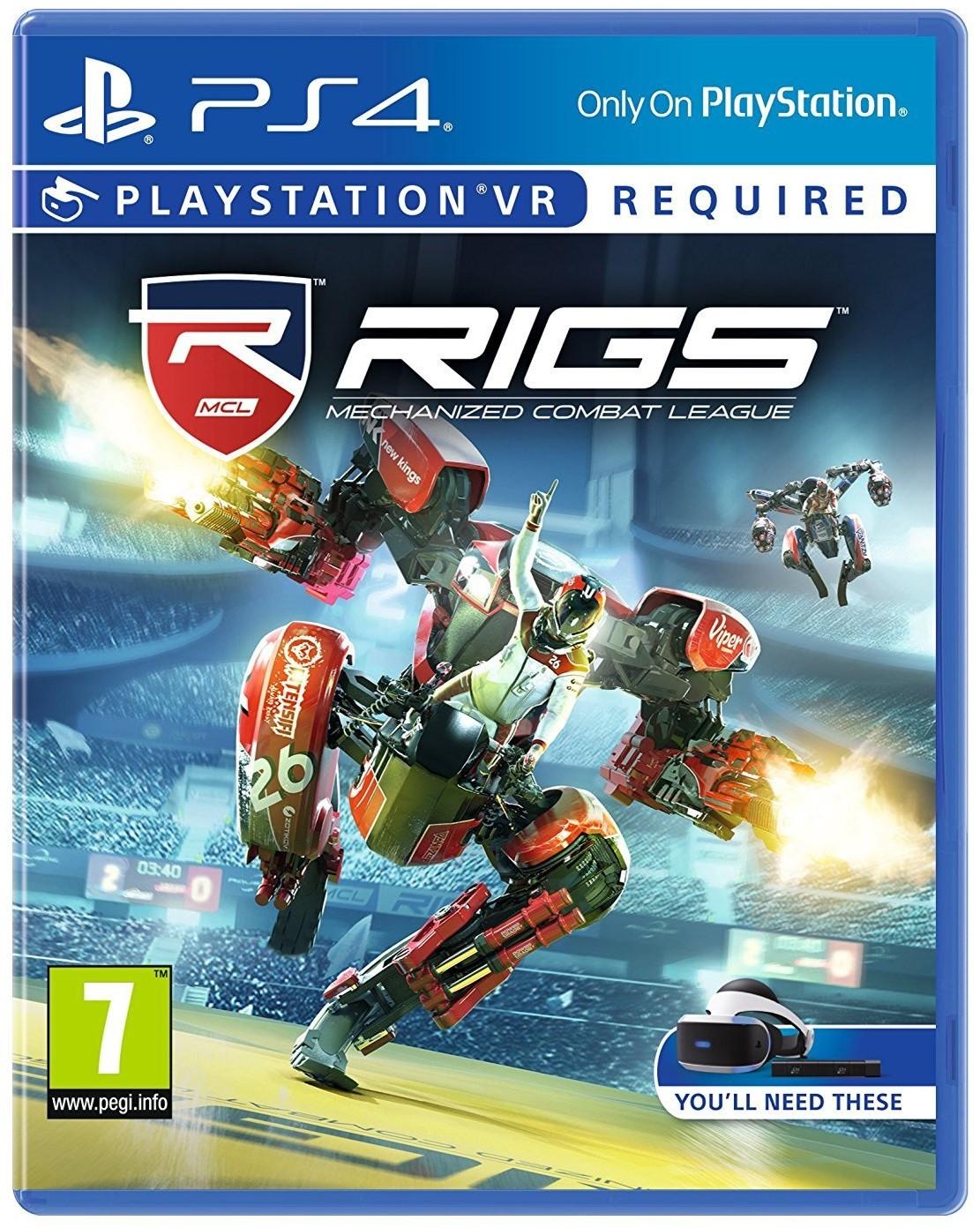 RIGS Mechanized Combat League - PS4 VR