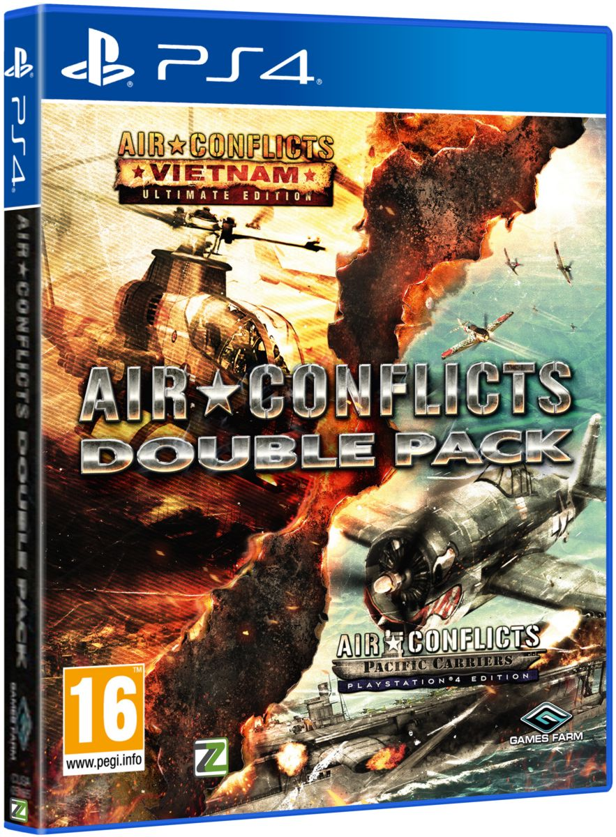 AIR CONFLICTS: DOUBLE PACK (VIETNAM+PACIFIC) - PS4