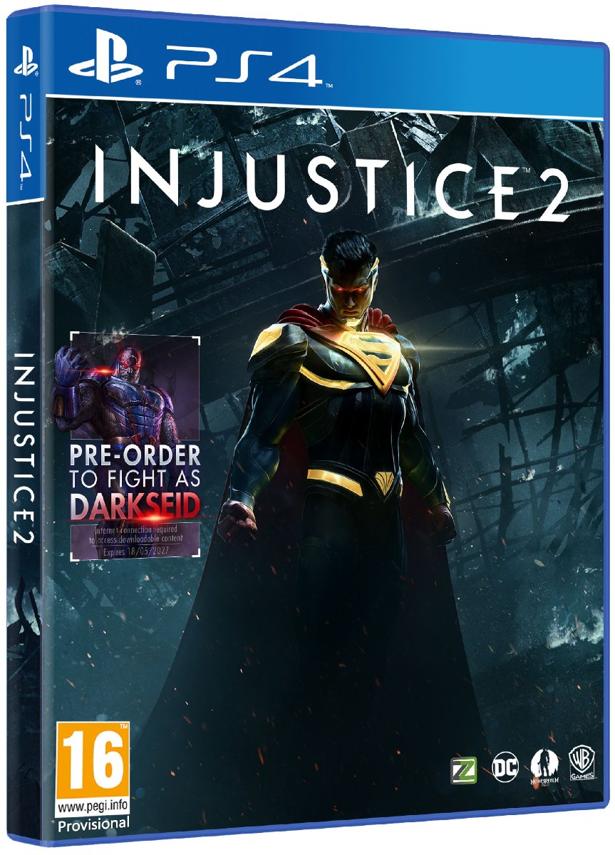 INJUSTICE 2 Deluxe Edition - PS4