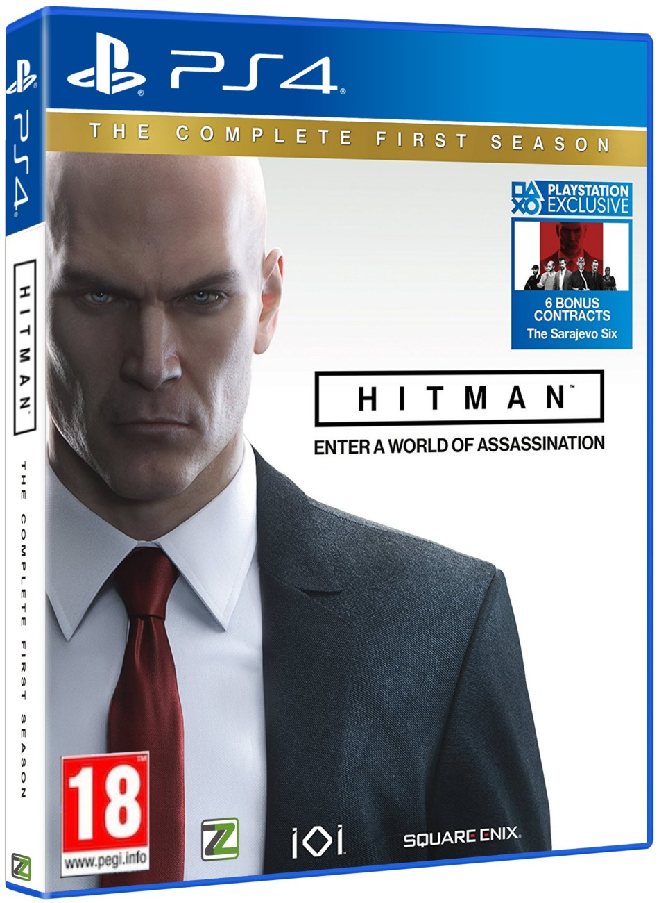 HITMAN THE COMPLETE FIRST SEASON STEELBOOK EDITION - PS4