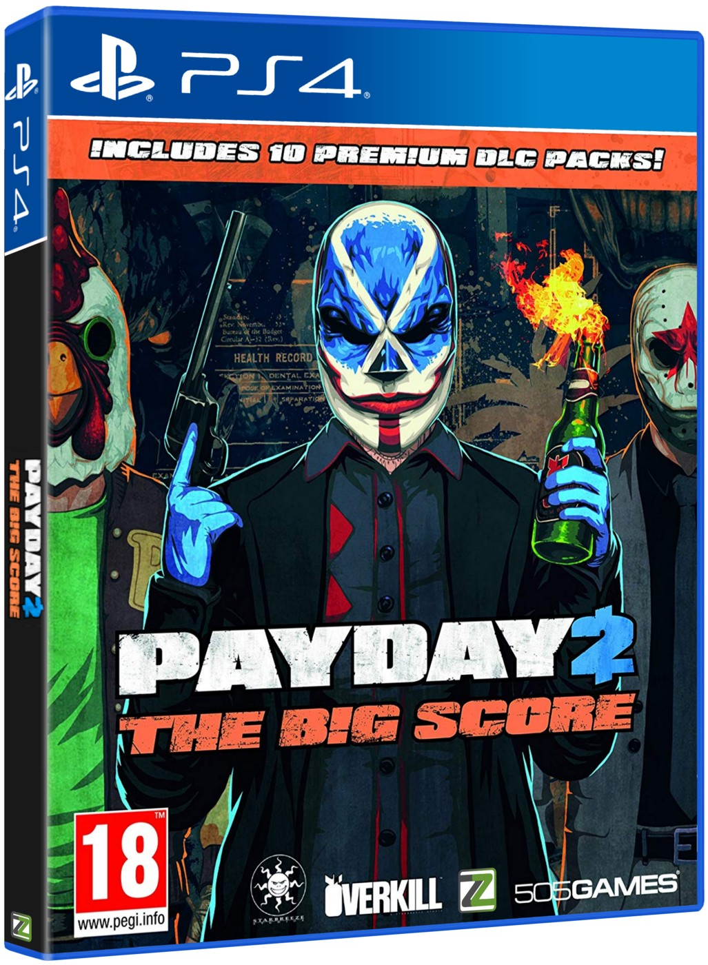 PAYDAY 2 THE BIG SCORE - PS4