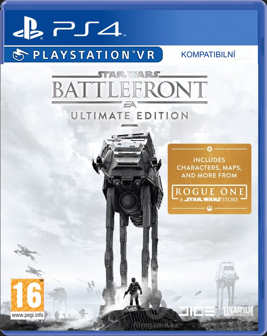 STAR WARS BATTLEFRONT (ULTIMATE EDITION) - PS4
