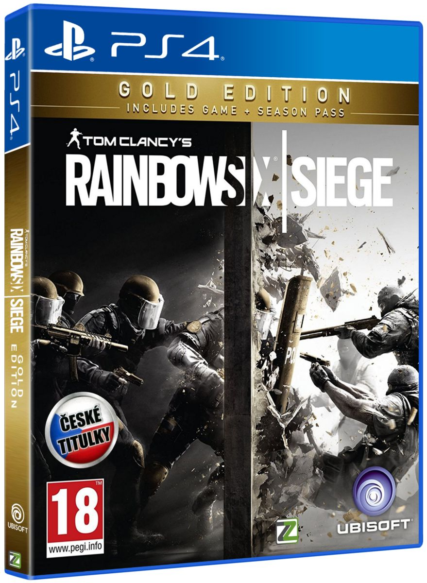 TOM CLANCY'S RAINBOW SIX: SIEGE (GOLD EDITION) - PS4