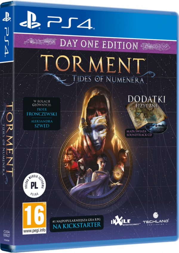 TORMENT: TIDES OF NUMENERA - Day One Edition - PS4