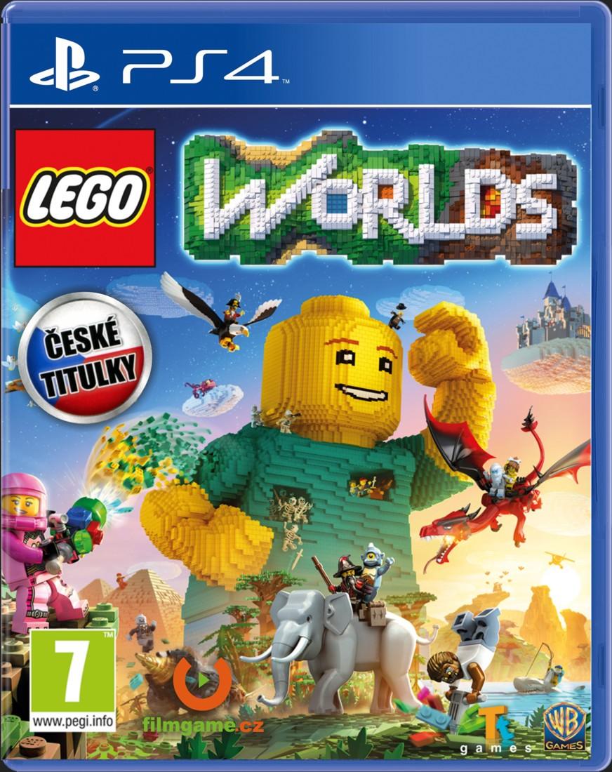 LEGO Worlds CZ - PS4