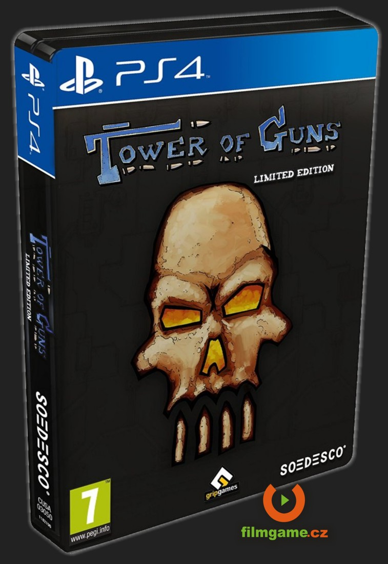 TOWER OF GUNS (Limited Steelbook Edition) - PS4