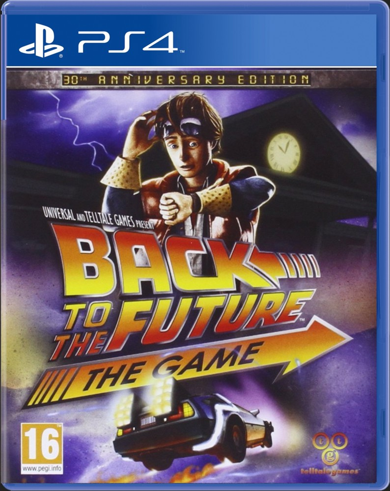 BACK TO THE FUTURE THE GAME - PS4