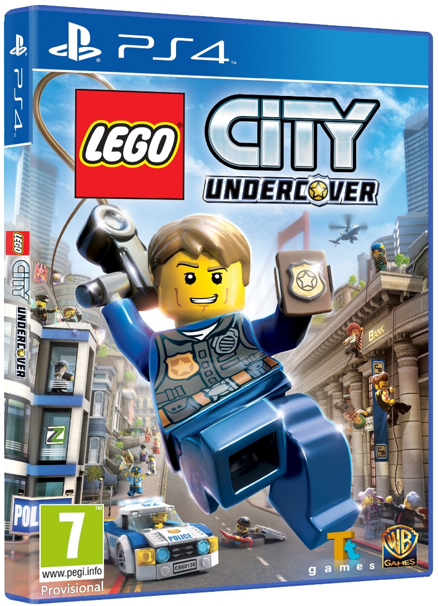 LEGO CITY: UNDERCOVER - PS4