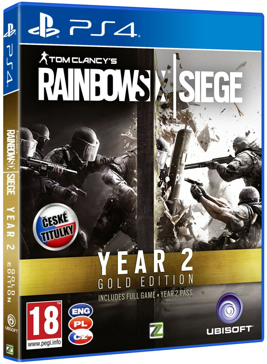 TOM CLANCY'S RAINBOW SIX: SIEGE GOLD SEASON 2 - PS4