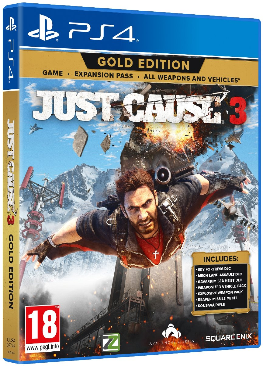 JUST CAUSE 3 (Gold Edition) - PS4
