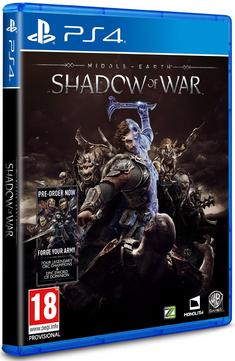 MIDDLE-EARTH: Shadow of War - PS4