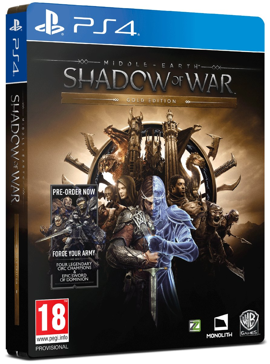 MIDDLE-EARTH: Shadow of War (Gold Edition) - PS4