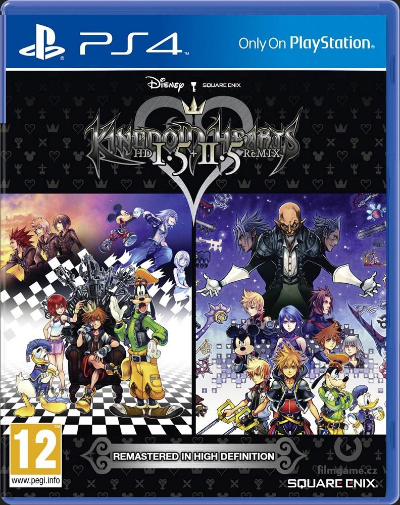 Kingdom Hearts HD 1.5 and 2.5 Remix - PS4