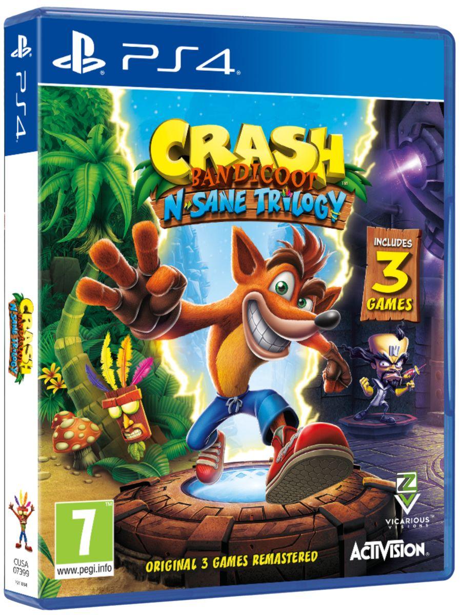 Crash Bandicoot N.Sane Trilogy - PS4