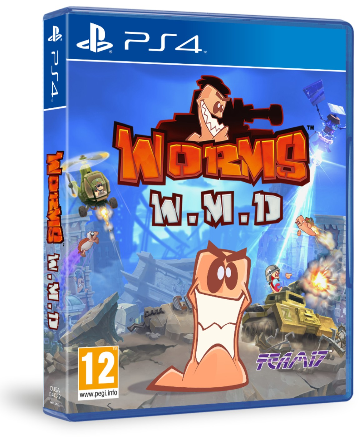 WORMS W.M.D. All Stars - PS4