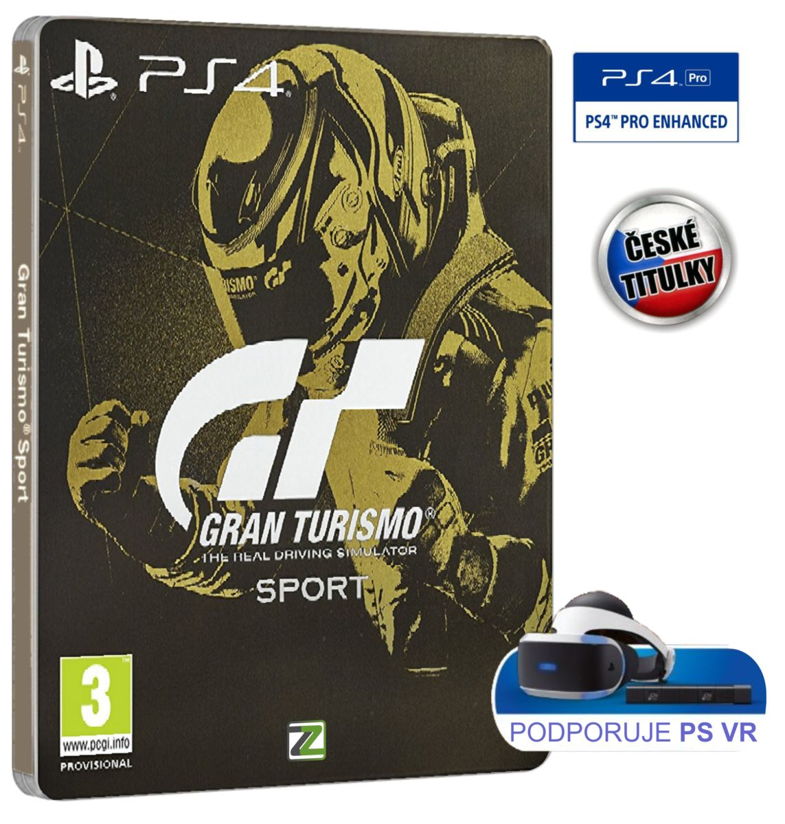 Gran Turismo Sport (Steelbook Edition) - PS4