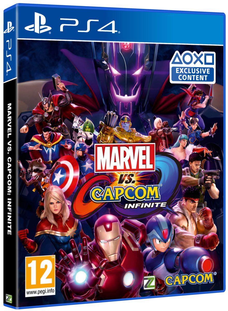 Marvel Vs. Capcom: Infinite - PS4