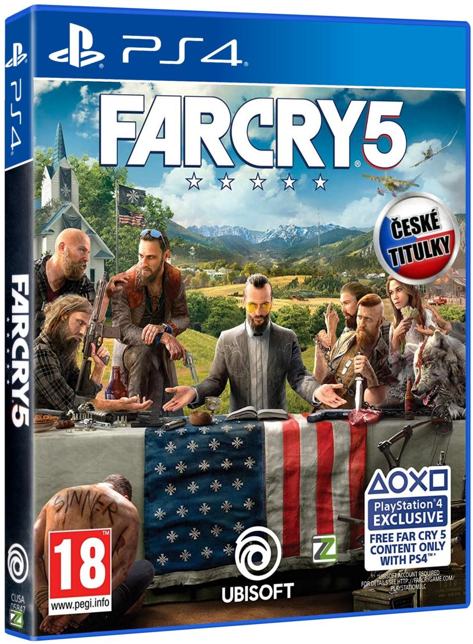 FAR CRY 5 - PS4