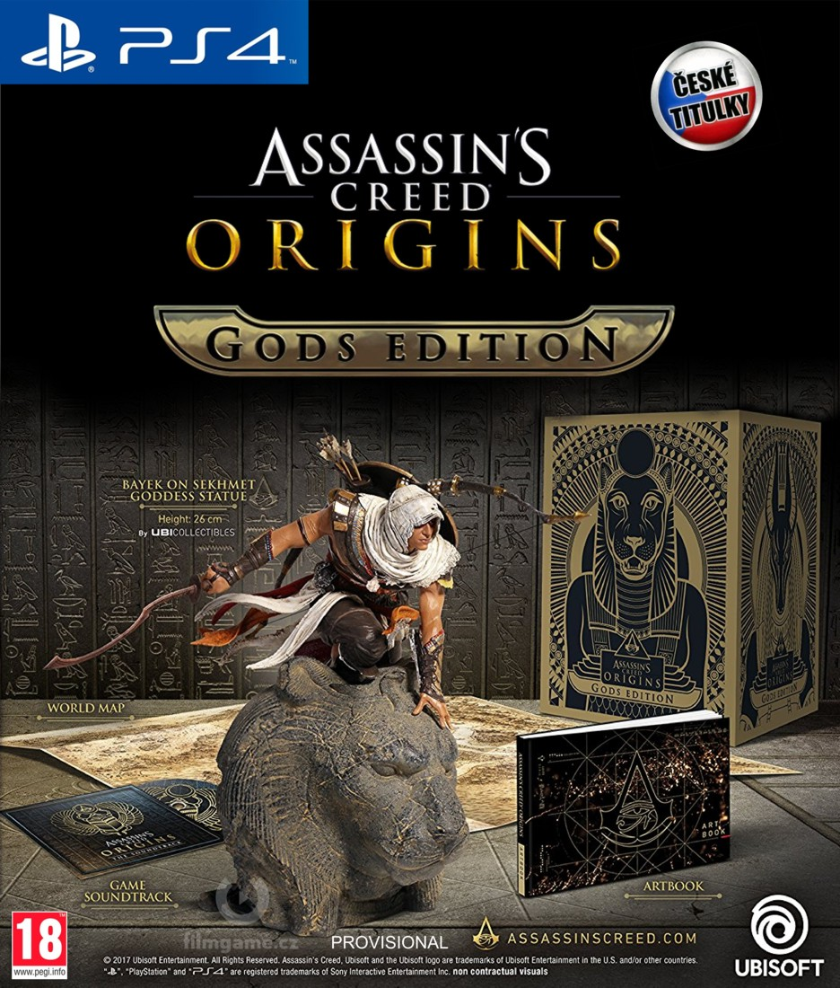 Assassin's Creed Origins (Gods Collector's Edition) - PS4