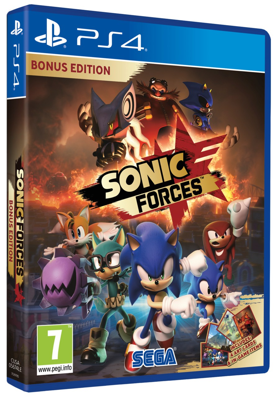 Sonic Forces (D1 Edition) - PS4