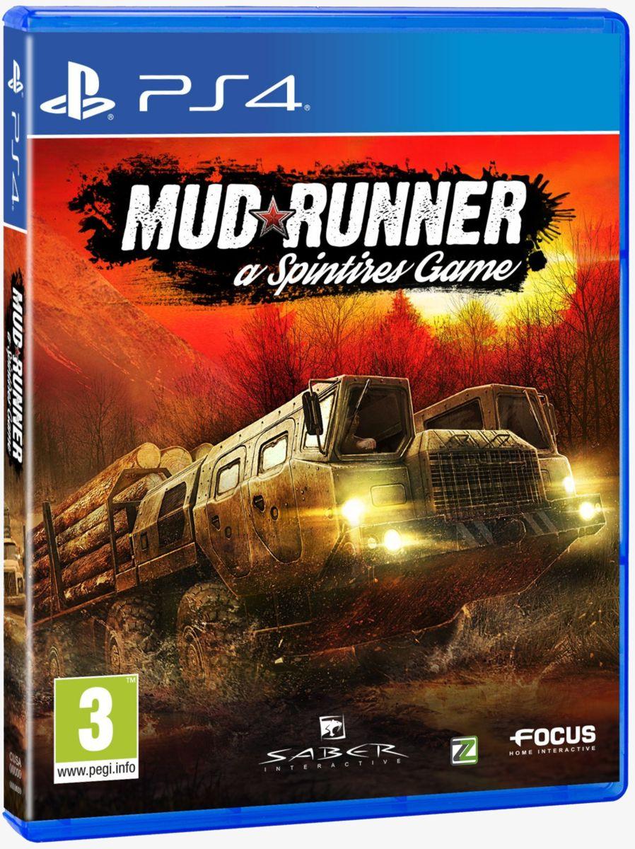 Spintires: MudRunner - PS4