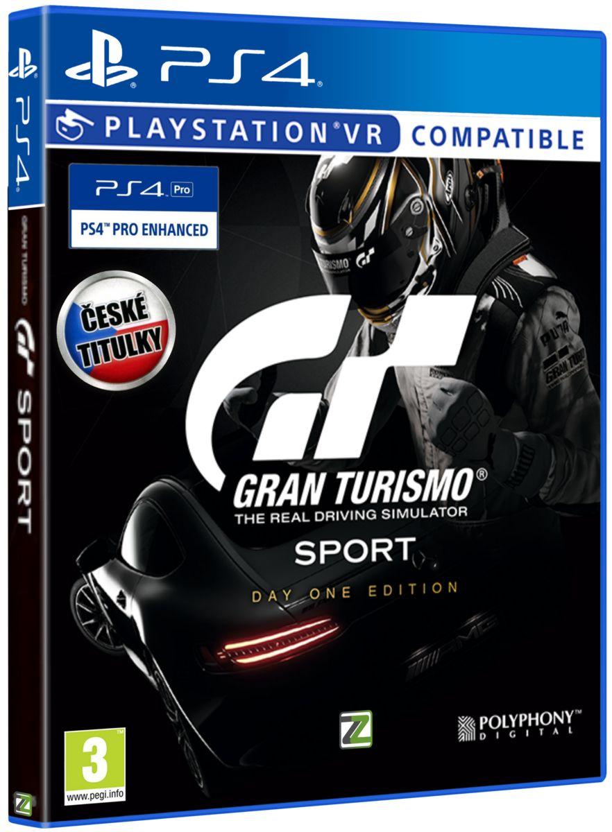 Gran Turismo Sport CZ (D1 Edition) - PS4