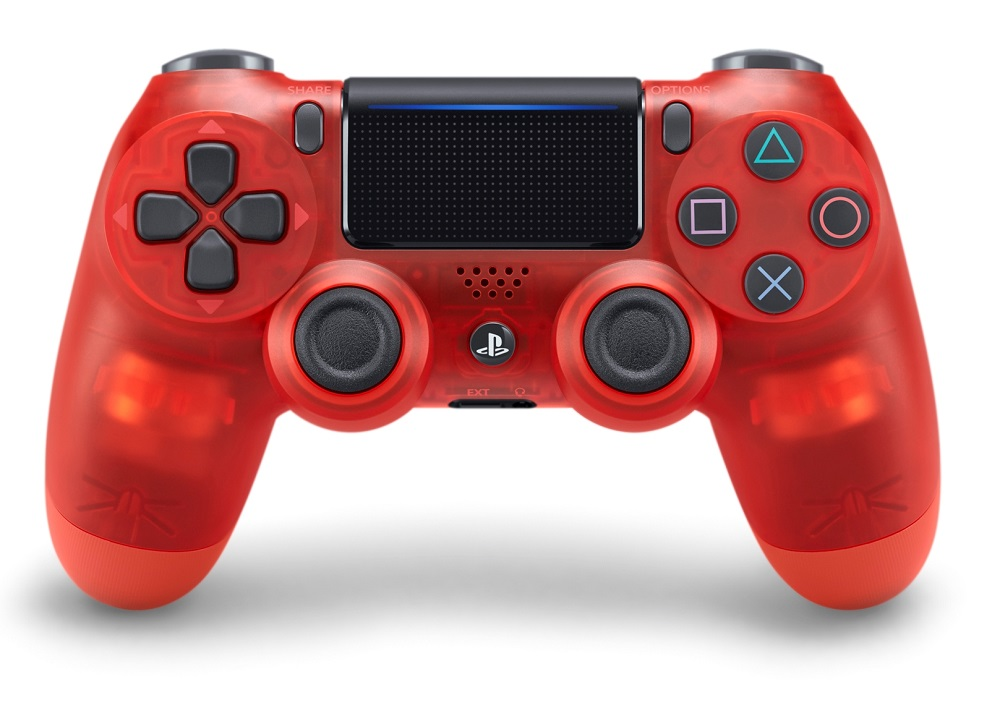 Dualshock 4 Wireless Controller V2 Translucent Red PS4