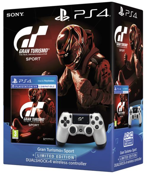 Dualshock 4 Wireless Controller V2 (Edice GT Sport) + hra Gran Turismo Sport PS4