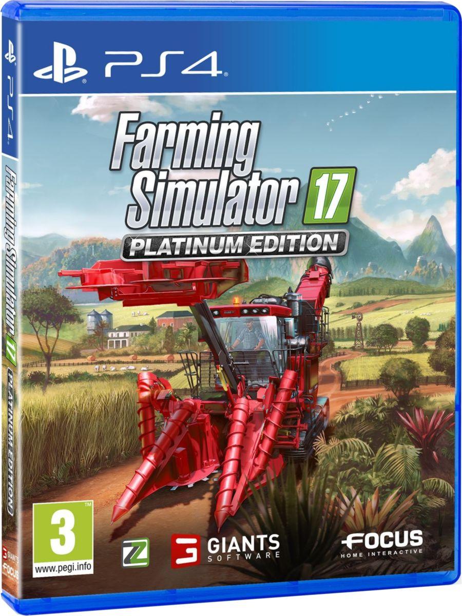 Farming Simulator 17 - Platinum Edition - PS4