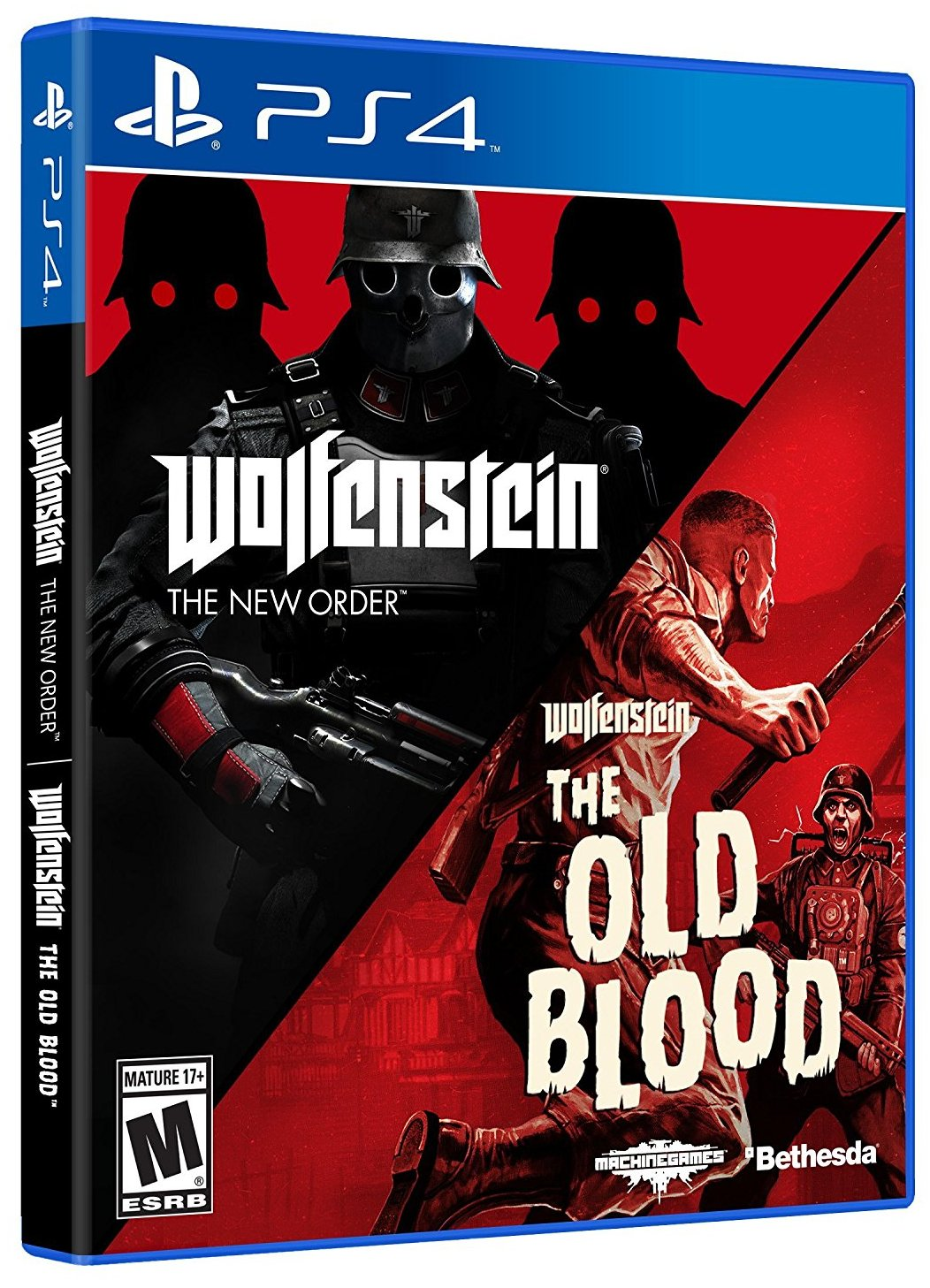 Wolfenstein The New Order and The Old Blood Double Pack - PS4