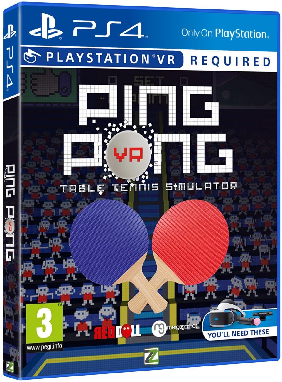 Ping Pong - PS4 VR