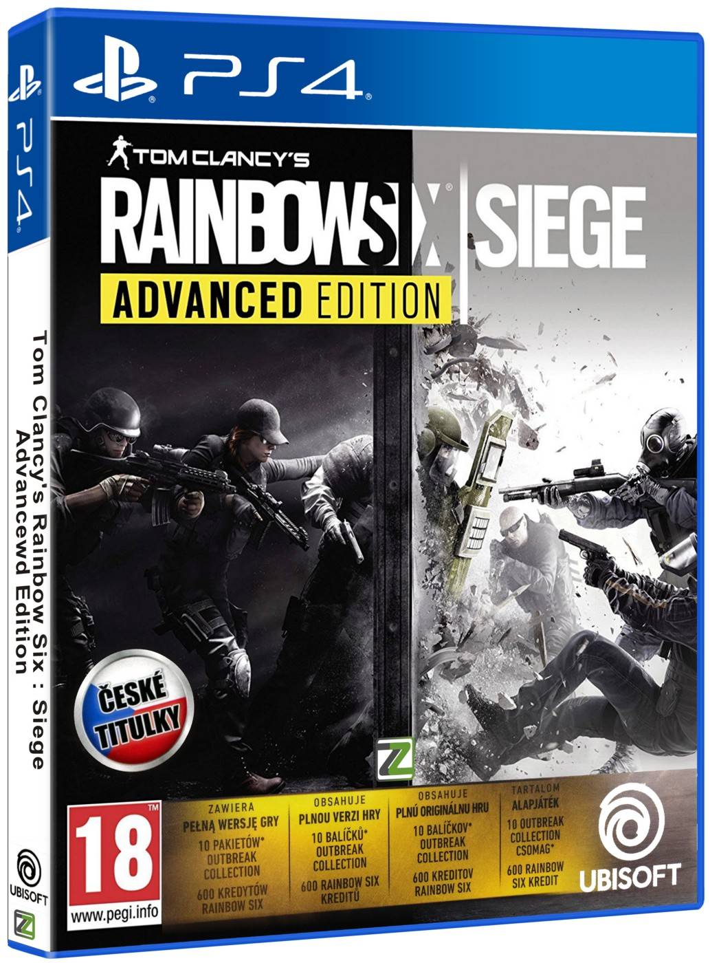 Tom Clancy's Rainbow Six: Siege Advanced Edition - PS4