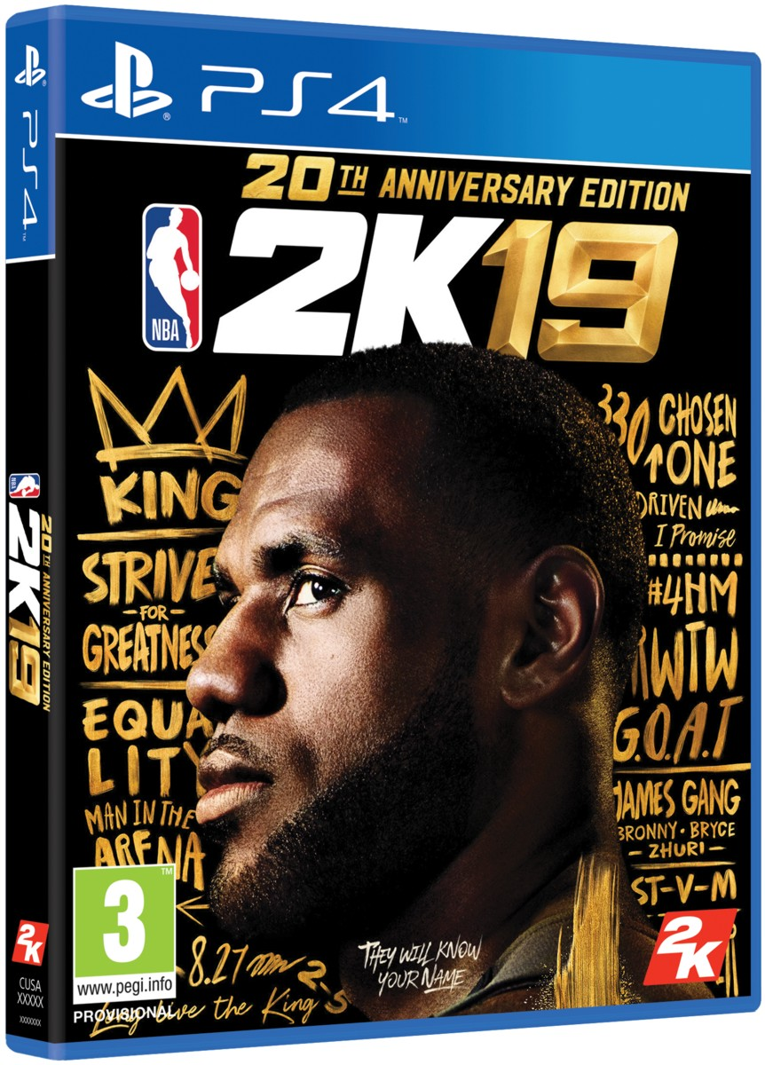 NBA 2K19 Anniversary Edition - PS4