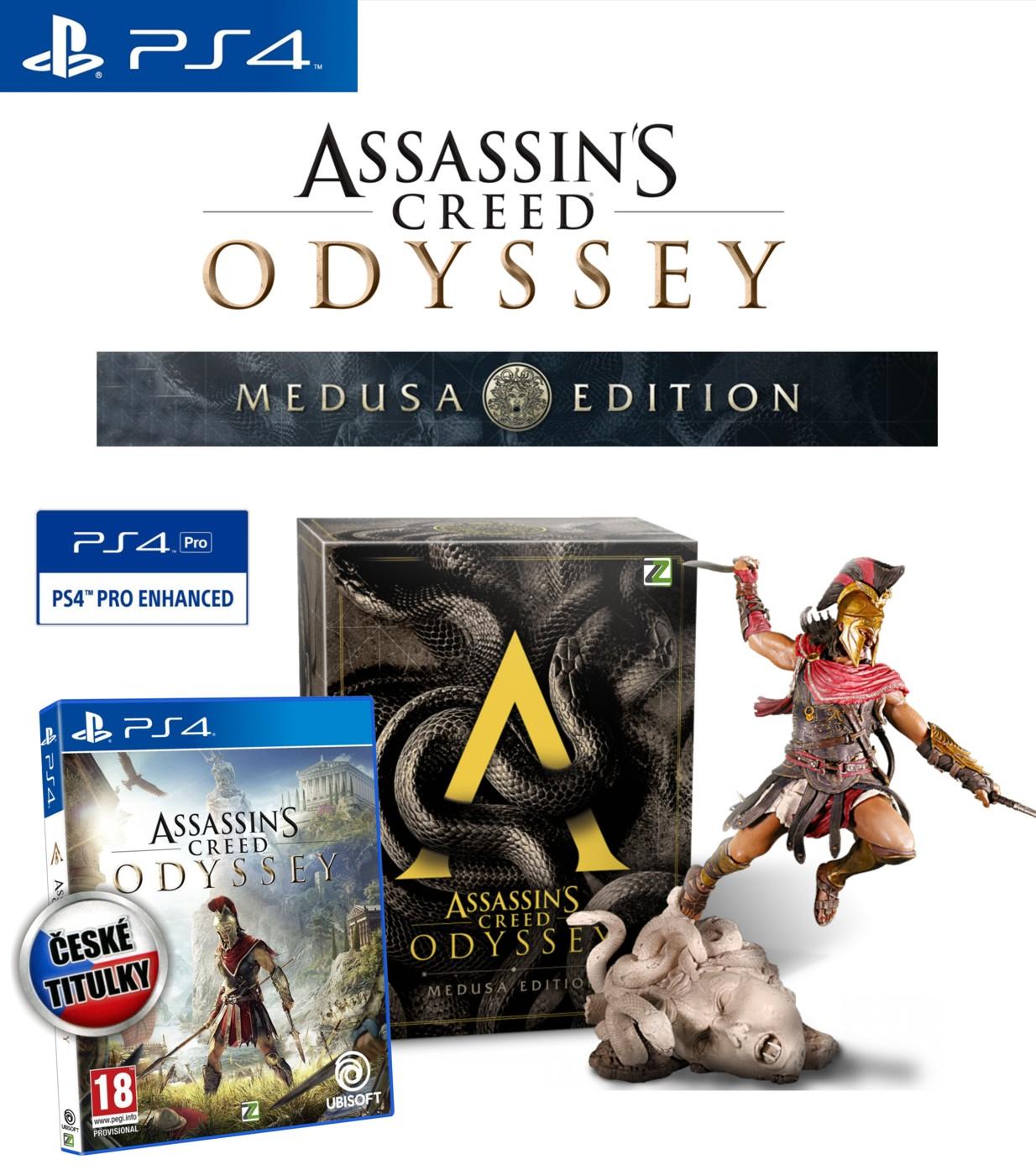 Assassin's Creed Odyssey: Medusa Edition - PS4