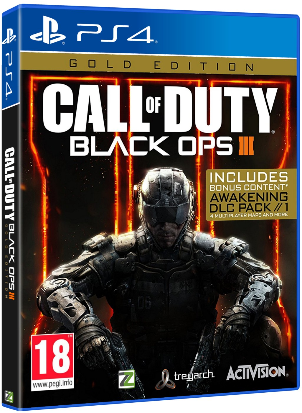 CALL OF DUTY BLACK OPS 3 GOLD EDITION - PS4