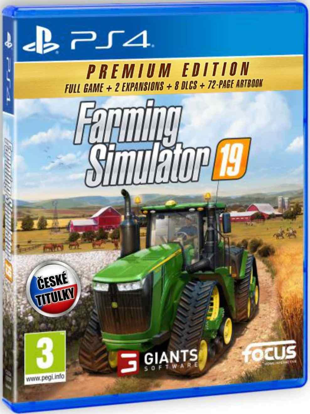 Farming Simulator 19: Premium Edition - PS4