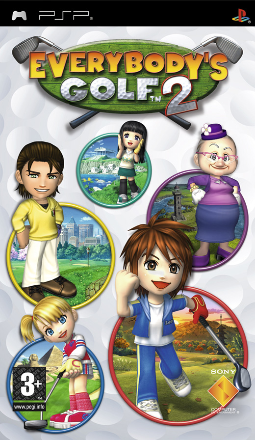 EVERYBODYS GOLF 2 - PSP