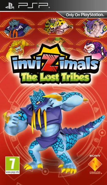 INVIZIMALS THE LOST TRIBES - PSP