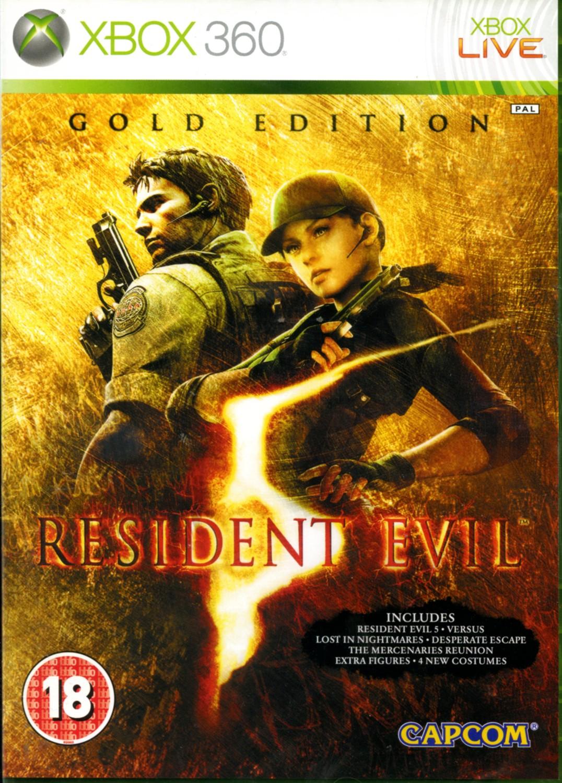 RESIDENT EVIL 5 - X360