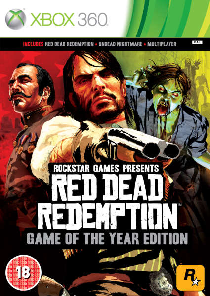 RED DEAD REDEMPTION GAME OF THE YEAR EDITION - X360