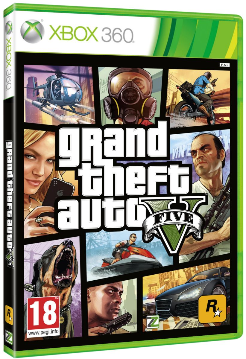 GRAND THEFT AUTO V (GTA 5) - X360