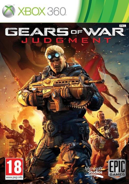 GEARS OF WAR: JUDGMENT CZ - X360